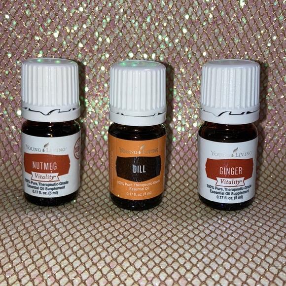 Nutmeg, Dill & Ginger essential oil—Sealed